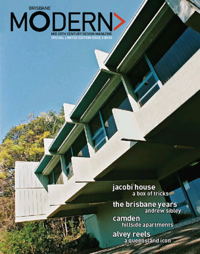 Brisbane Modern - Issue 3 Cover