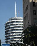 Los Angeles. Capitol Records Tower 1956. Architect, Welton Becket